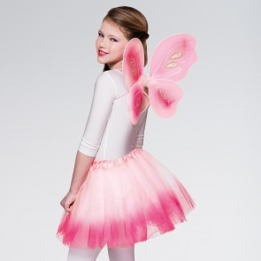 Fairy Set Wings and Tutu Pink