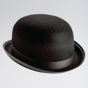 Felt Bowler Hat Black