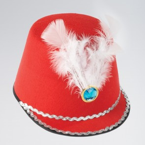 Red Majorette Hat