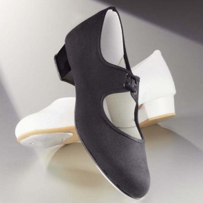 1st Position Canvas Low Heel Tap Shoes