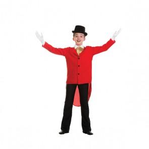 Child Tailcoat Red