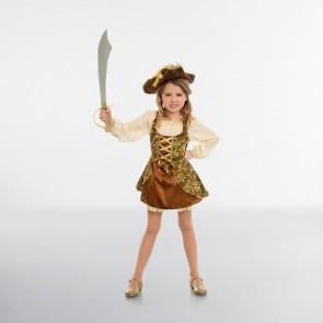 Golden Pirate Child