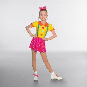 1st Position Large Buttoned Clown Costume