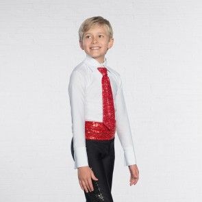 Cravatta in Paillettes con Elastico