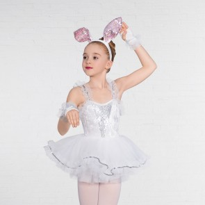 1st Position Net Frill Character Unitard with Separate Tutu Skirt