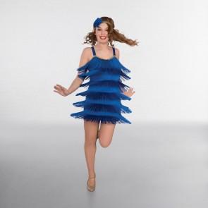 Sequin Trimmed Flapper Dress