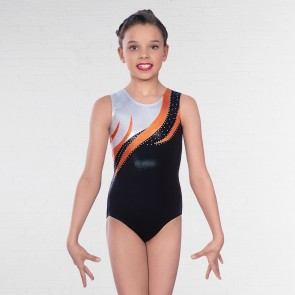 1st Position Kendall Diamante Sleeveless Leotard
