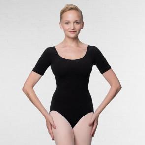 Lulli Short Sleeve Cotton Ballet Leotard Lauretta