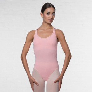 Lulli Double Strap Camisole Cotton Dance Leotard Yvette