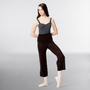 Lulli Knitted High Waist 7/8  Warm Up Pants