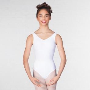 0ab6cff59807 Leotards - Leotards - Dancewear: White and Ruched Front | IDS Australia