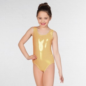 1st Position Laura Metallic Dot Vest Leotard