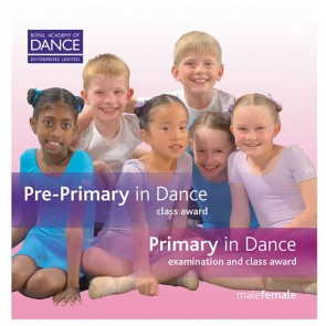 RAD Pre Primary/Primary in Dance CD's (Set of 2)