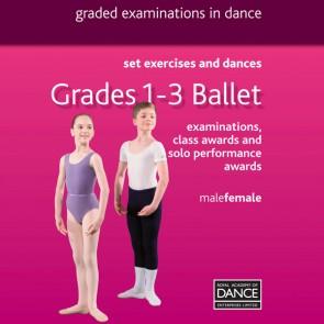 RAD Grades 1-3 Ballet DVD