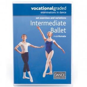 RAD Vocational Intermediate Ballet DVD