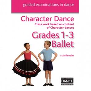 RAD Grades 1-3 Character DVD