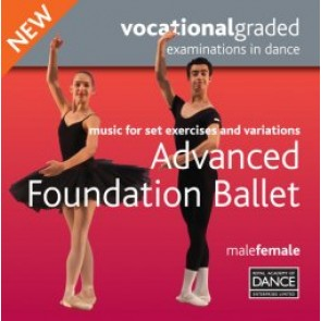 Advanced Foundation Male/Female Syllabus CD