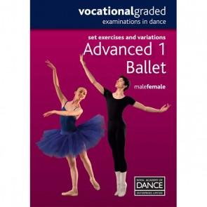 RAD Advanced 1 Male/Female Ballet DVD