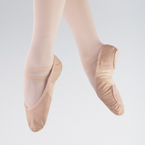 So Danca Stretch Insert Leather Ballet Shoe