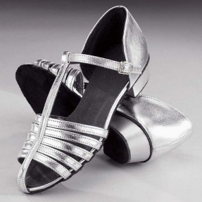 1st Position Silver Strip Shoes