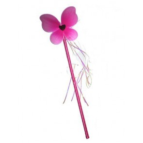 Cerise Butterfly Wand