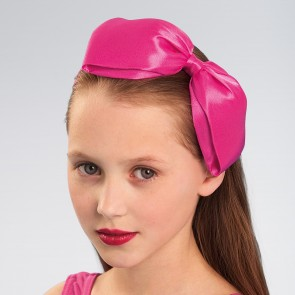 Large Satin Bow Alice Band