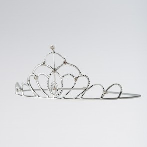 Oval Diamante Tiara