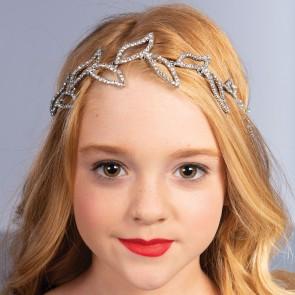 Diamante Leaf Headband