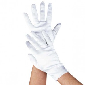 Deluxe Short Satin Glove