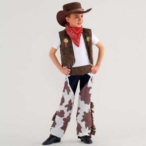 Cowboy Costume Cow Print Child