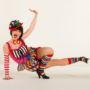 Lady Clown Outfit - Adult One Size