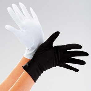 Black Short Gloves - Adult