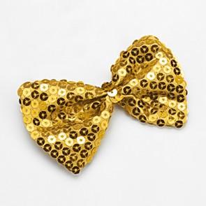 Papillon Paillettes Oro