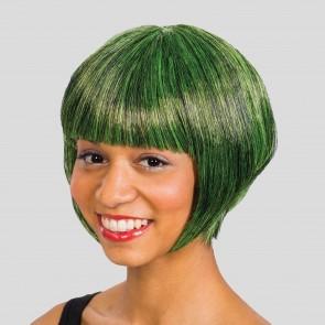 Dark Green Bob Wig