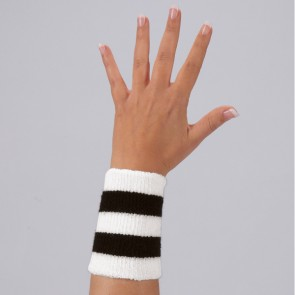 Single Wrist Warmer Striped